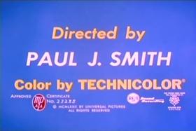 Screenshots from the 1972 Walter Lantz cartoon Show Biz Beagle