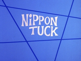 Screenshots from the 1972 DePatie Freleng cartoon Nippon Tuck