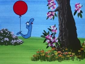 Screenshots from the 1972 DePatie Freleng cartoon Love and Hisses