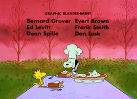 Screenshots from the 1973 Bill Melendez Productions cartoon A Charlie Brown Thanksgiving