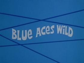 Screenshots from the 1973 DePatie Freleng cartoon Blue Aces Wild