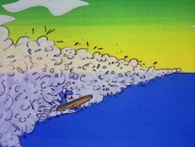 Screenshots from the 1973 DePatie Freleng cartoon Killarney Blarney