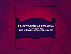 Screenshots from the 1973 DePatie Freleng cartoon The Shoe Must Go On