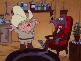 Screenshots from the 1973 DePatie Freleng cartoon Pay Your Buffalo Bill