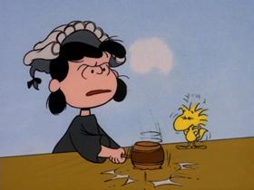 Screenshots from the 1974 Bill Melendez Productions cartoon It