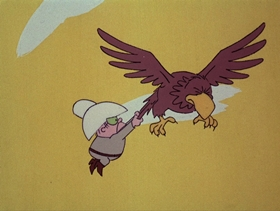 Screenshots from the 1974 DePatie Freleng cartoon Phony Express
