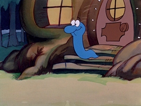 Screenshots from the 1974 DePatie Freleng cartoon Little Boa Peep
