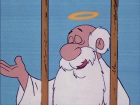 Screenshots from the 1974 DePatie Freleng cartoon As the Tumbleweed Turns