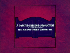 Screenshots from the 1974 DePatie Freleng cartoon By Hoot or By Crook
