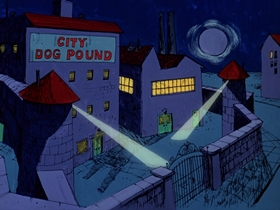 Screenshots from the 1974 DePatie Freleng cartoon The Big House Ain