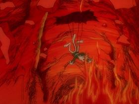 Screenshots from the 1974 DePatie Freleng cartoon Deviled Yeggs