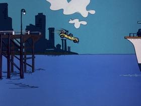 Screenshots from the 1975 DePatie Freleng cartoon Haunting Dog