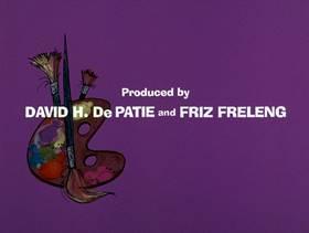 Screenshots from the 1975 DePatie Freleng cartoon Pink DaVinci