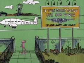 Screenshots from the 1975 DePatie Freleng cartoon Bobolink Pink