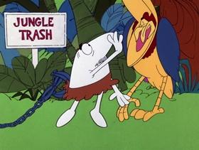 Screenshots from the 1975 DePatie Freleng cartoon It