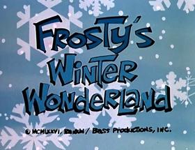 Screenshots from the 1976 Rankin/Bass cartoon Frosty