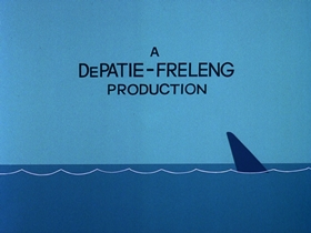 Screenshots from the 1976 DePatie Freleng cartoon The Shape Of Things