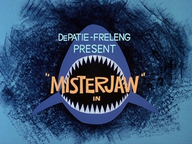 Screenshots from the 1976 DePatie Freleng cartoon Flying Saucer