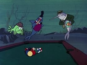 Screenshots from the 1976 DePatie Freleng cartoon Davey Jone