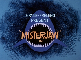 Screenshots from the 1976 DePatie Freleng cartoon Deep Sea Rodeo