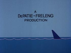 Screenshots from the 1976 DePatie Freleng cartoon Cool Shark