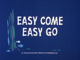 Screenshots from the 1976 DePatie Freleng cartoon Easy Come Easy Go