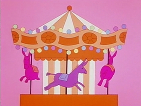 Screenshots from the 1976 Warner Bros. cartoon Carnival of the Animals