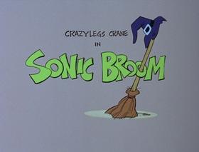 Screenshots from the 1978 DePatie Freleng cartoon Sonic Broom
