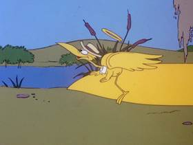 Screenshots from the 1978 DePatie Freleng cartoon Bug Off