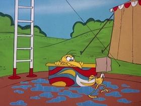 Screenshots from the 1978 DePatie Freleng cartoon Animal Crack-Ups