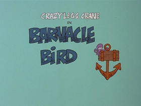 Screenshots from the 1978 DePatie Freleng cartoon Barnacle Bird