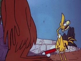 Screenshots from the 1978 DePatie Freleng cartoon Flower Power