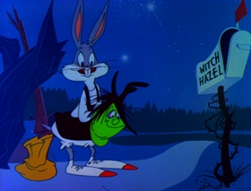 Screenshots from the 1978 Warner Bros. cartoon Bugs Bunny