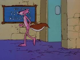 Screenshots from the 1978 DePatie Freleng cartoon The Pink of Bagdad