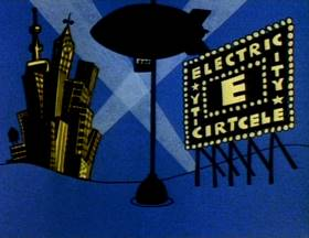 Screenshots from the 1979 Focus Design, Inc. cartoon Electricity, Electricity