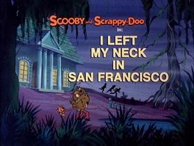 Screenshots from the 1979 Hanna-Barbera cartoon I Left My Neck in San Francisco