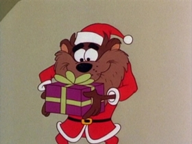 Screenshots from the 1979 Warner Bros. cartoon Fright Before Christmas