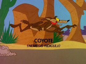 Screenshots from the 1980 Warner Bros. cartoon Soup or Sonic