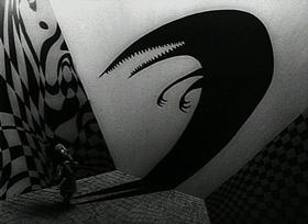 Screenshots from the 1982 Disney cartoon Vincent