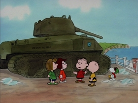 Screenshots from the 1983 Bill Melendez Productions cartoon What Have We Learned, Charlie Brown?