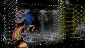 Screenshots from the 1984 National Film Board of Canada cartoon Paradise