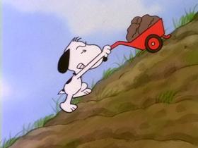 Screenshots from the 1985 Bill Melendez Productions cartoon Giant
