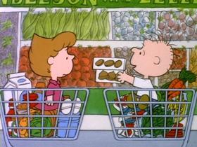 Screenshots from the 1985 Bill Melendez Productions cartoon Rerun