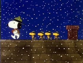 Screenshots from the 1985 Bill Melendez Productions cartoon The Play