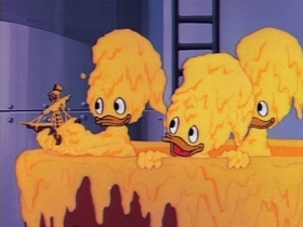 Screenshots from the 1987 Disney Television Animation cartoon Don