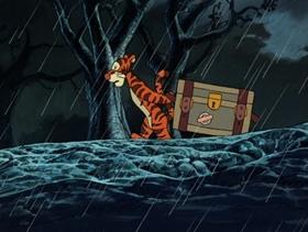 Screenshots from the 1988 Disney Television Animation cartoon Luck Amok