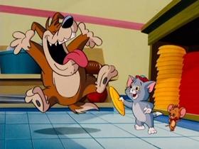 Screenshots from the 1990 Hanna-Barbera cartoon Flippin
