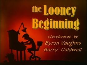 Screenshots from the 1990 Amblin Entertainment cartoon The Looney Beginning