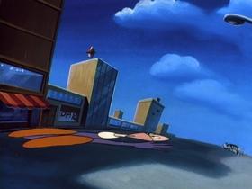 Screenshots from the 1990 Amblin Entertainment cartoon It