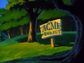 Screenshots from the 1990 Amblin Entertainment cartoon It